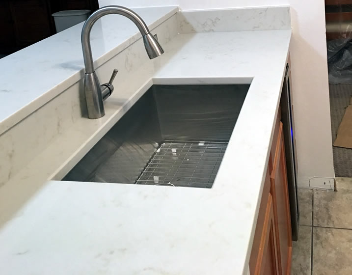 granite vs quartz is really one better than the other c a s granite quartzite marble. Black Bedroom Furniture Sets. Home Design Ideas